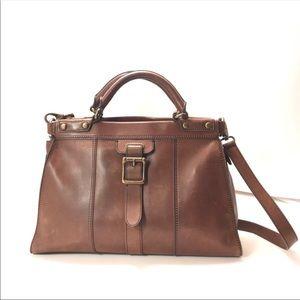 Fossil Vintage Revival Leather Purse